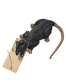 Twitching Rat in a Trap - Decorations