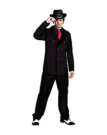 adult gangster costume - Halloween Mobster Costumes