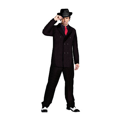 1940s Costumes Adult Gangster Costume $49.99 AT vintagedancer.com