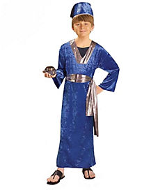 Kids Blue Wiseman Costume