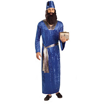Blue Wise Men Adult Costume