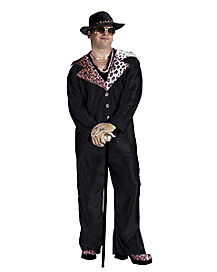 Big Daddy Pimp Adult Mens Costume