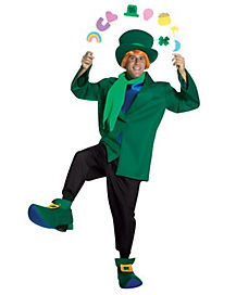 Lucky the Leprechaun Adult Character Costume