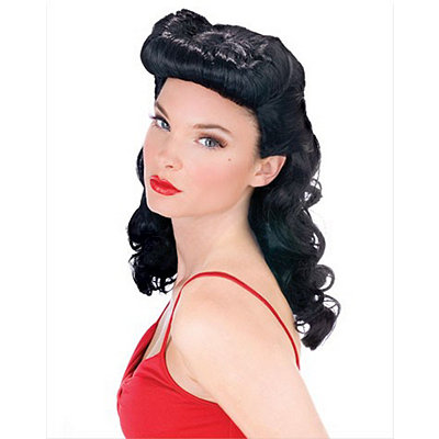 1940s Costumes Burlesque Beauty  Wig $21.99 AT vintagedancer.com