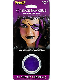 Grease Purple Makeup