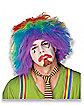 Rainbow Clown Adult Wig