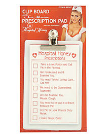 Hospital Honey Clipboard