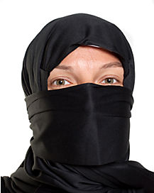 Black Ninja Hood