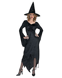 Adult Womens Dramatic Witch Costume