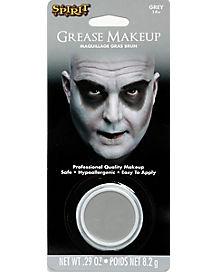 Gray Grease Makeup