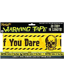 20 Feet of Caution Tape Decoration