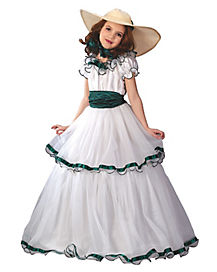 Southern Belle Child Costume