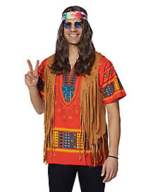 Feelin' Groovy™ Male Hippie Accessory Kit