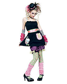 Tween Harajuku Pop Girl Costume