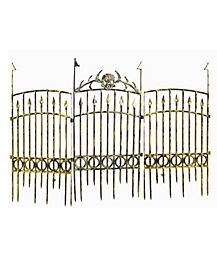 17 in Bronze Fence - Decorations