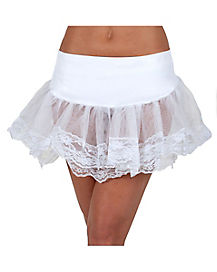 ML PETTICOAT WHITE