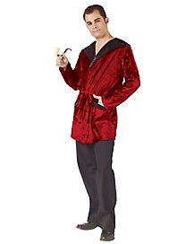 Adult Velvet Smoking Jacket