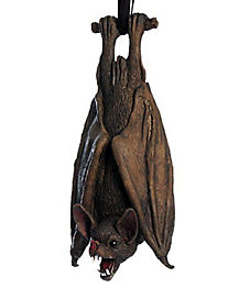 Upside Down Latex Bat Decoration