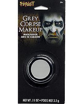 Gray Dead Guy Makeup