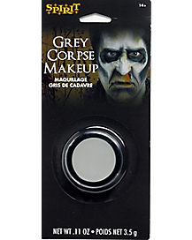 Gray Dead Guy Makeup