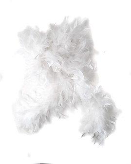 White Feather Boa