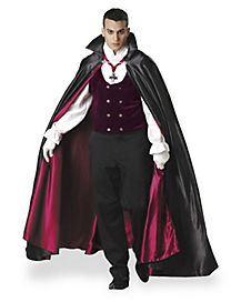 Gothic Vampiress Mens Theatrical Costume