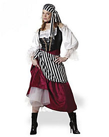 Adult Wench Pirate Costume - Theatrical