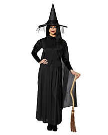 Adult Womens Classic Witch Costume