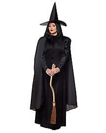 Adult Black Witch Plus Size Costume