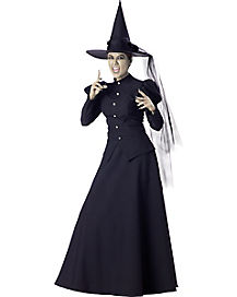 Adult Womens Witch Theatrical Quality Costume