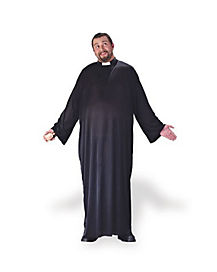 Keep the Faith Priest Adult Mens Plus Size Costume