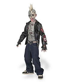 Kids Punk Zombie Costume