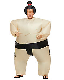 Inflatable Sumo Child Costume
