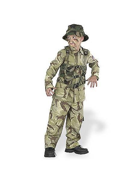 Skull Commando Halloween Costume