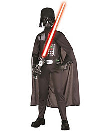 Kids Darth Vader One Piece Costume - Star Wars