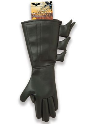the gauntlets from a batman suit