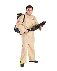 Adult Ghostbusters Plus Size Costume - Ghostbusters