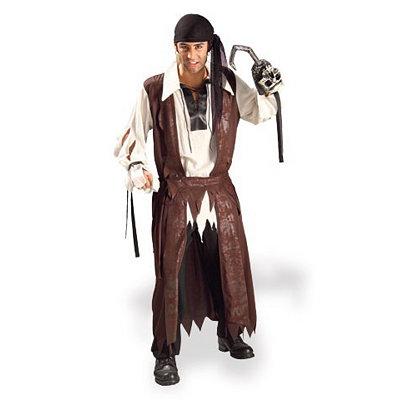 Pirate Caribbean Adult Mens Costume