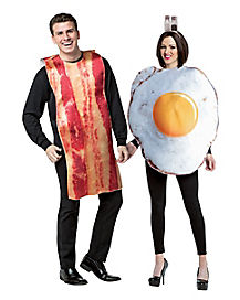 Bacon and Egg Couple Costume
