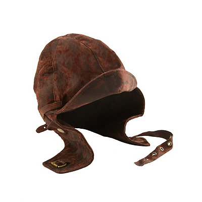 1930s Men's Costumes Aviator Hat $24.99 AT vintagedancer.com