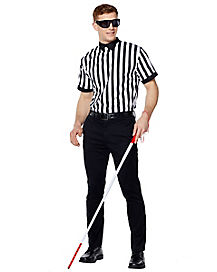 Adult Blind Referee Costume