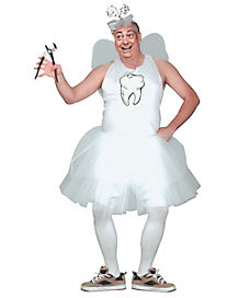 Tooth Fairy Adult Mens Plus Size Costume