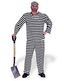 Adult Jailbird Convict Costume