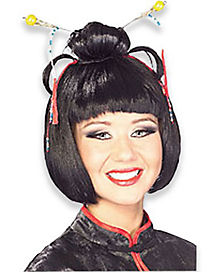 Oriental Stix Adult Wig