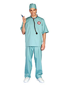 Emergency Room Surgeon Adult Mens Costume