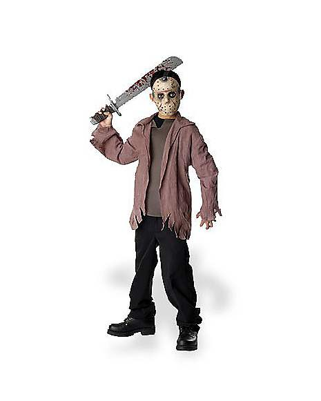 Jason Toys For Boys : Friday the th jason boys costume spirithalloween