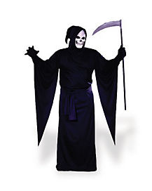 Adult Grim Reaper Robe Plus Size Costume