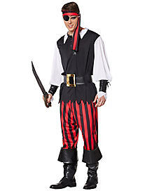 Adult Cut Throat Pirate Costume