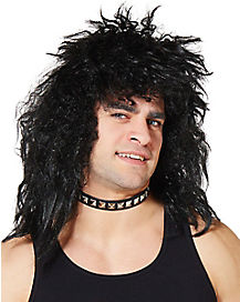 Black Rock Star Wig