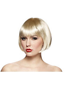 Short Blonde Bob Adult Wig